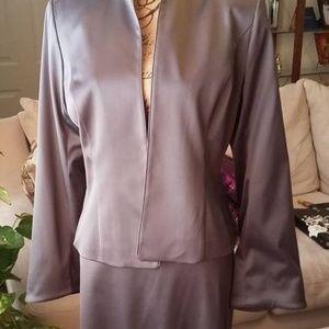 JS Collection. 2 piece pewter suit